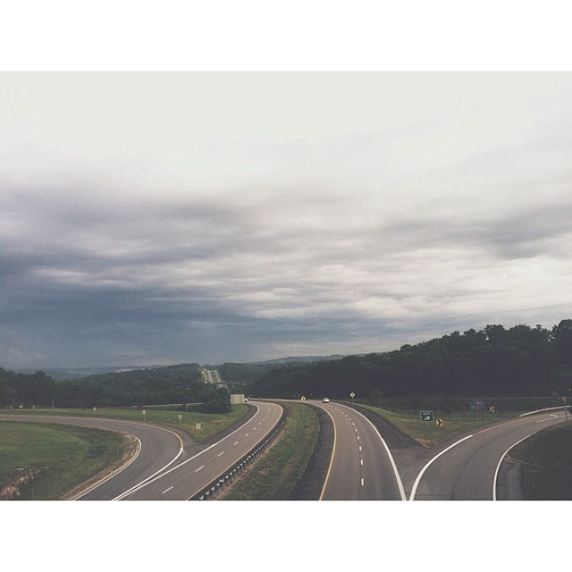four lanes of highway instagram picture by amberdduffphoto