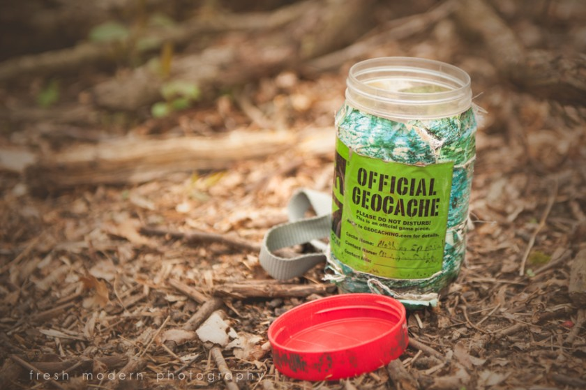 geocaching jar photograph by Mickie DeVries