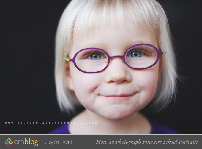 how to photograph fine art school portraits by elena blair