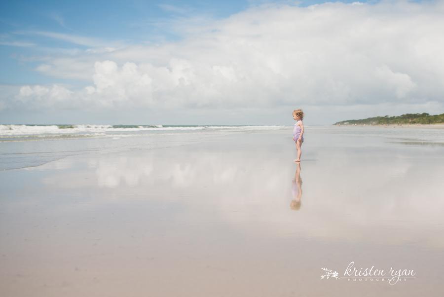 little girl standing on beach picture by Kristen Ryan 1