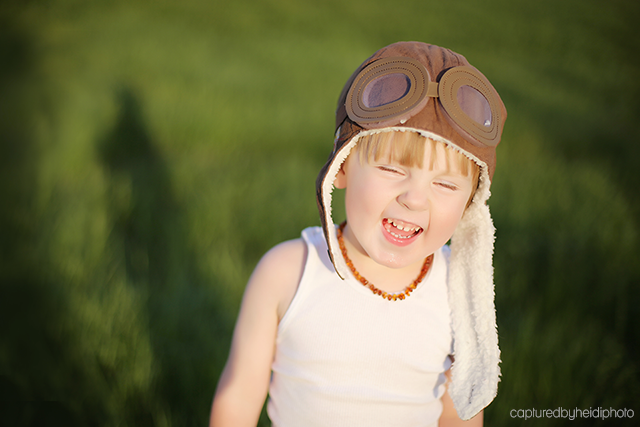 picture of smiling boy by Heidi Hicks