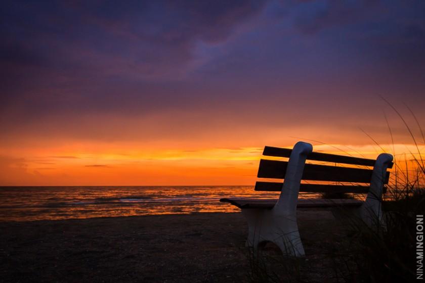 sunset photo by Nina Mingioni