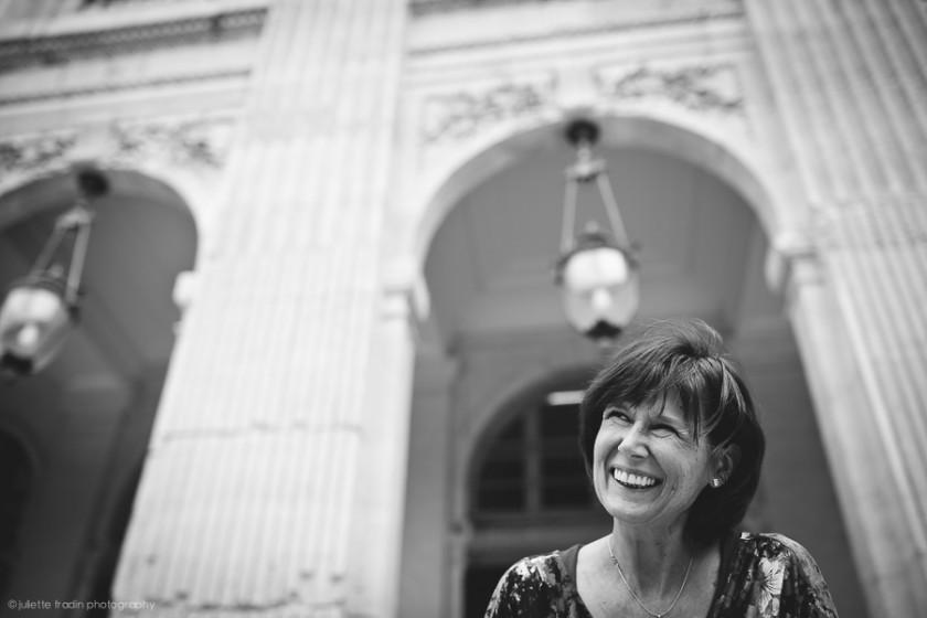 Paris smiling portrait by Juliette Fradin
