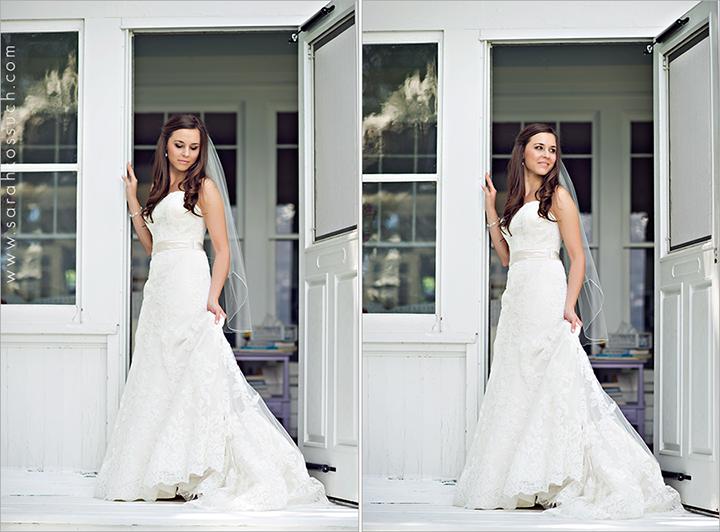 bridal portrait by Sarah Kossuch