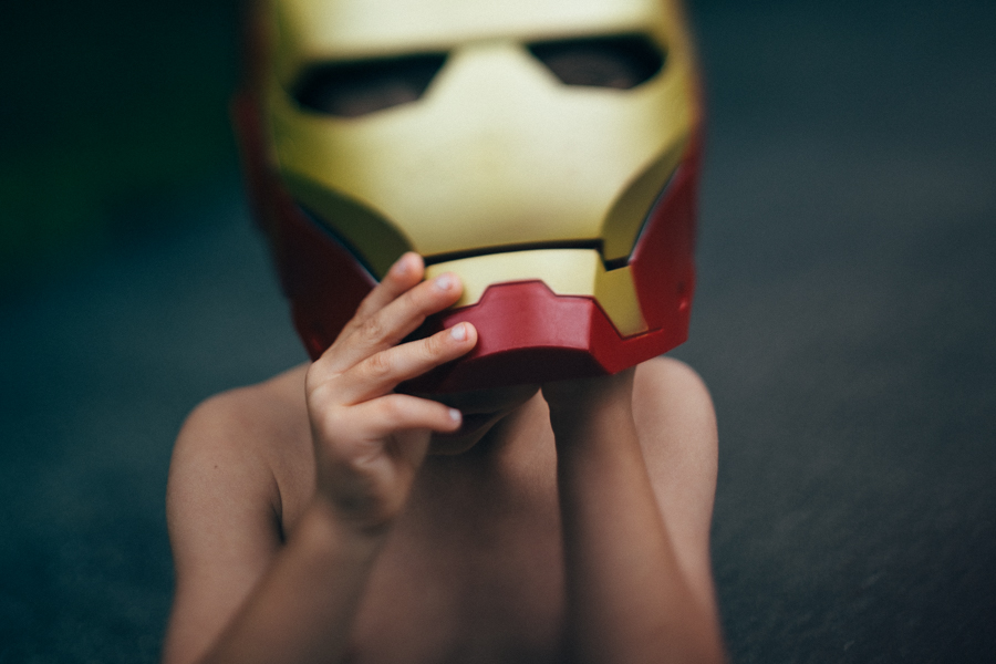 freelensed Iron Man picture by Megan Dill