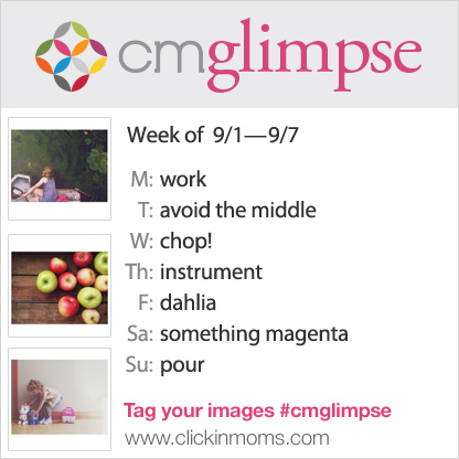 instagram photo project prompt list for CMglimpse for September 1st