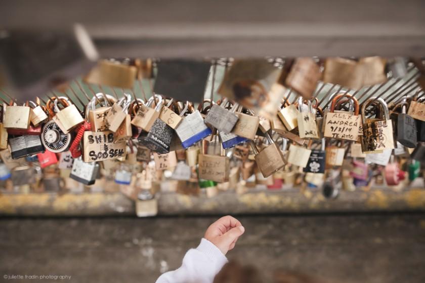 lockers pont des arts Paris picture by Juliette Fradin