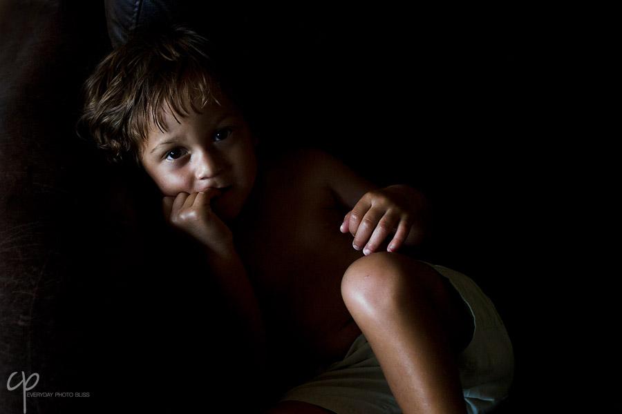 portrait of boy by Celeste Pavlik