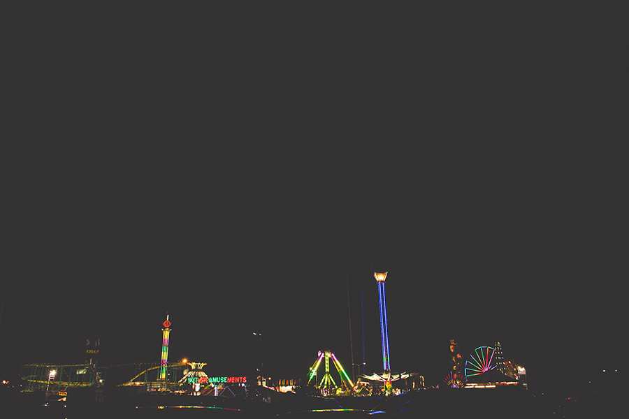 wide angle view of the state fair by Brittany Chandler