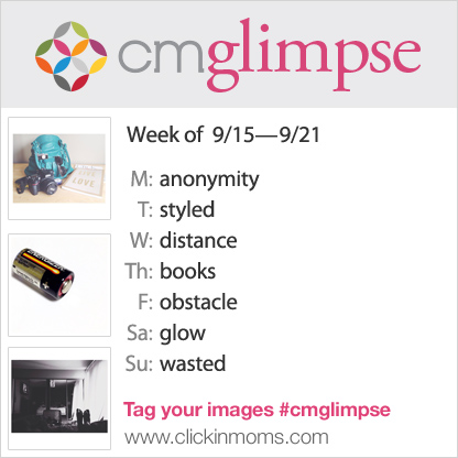 CMglimpse Instagram photo project prompt list for September 15th