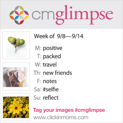 CMglimpse instagram photo project prompt list for August 8