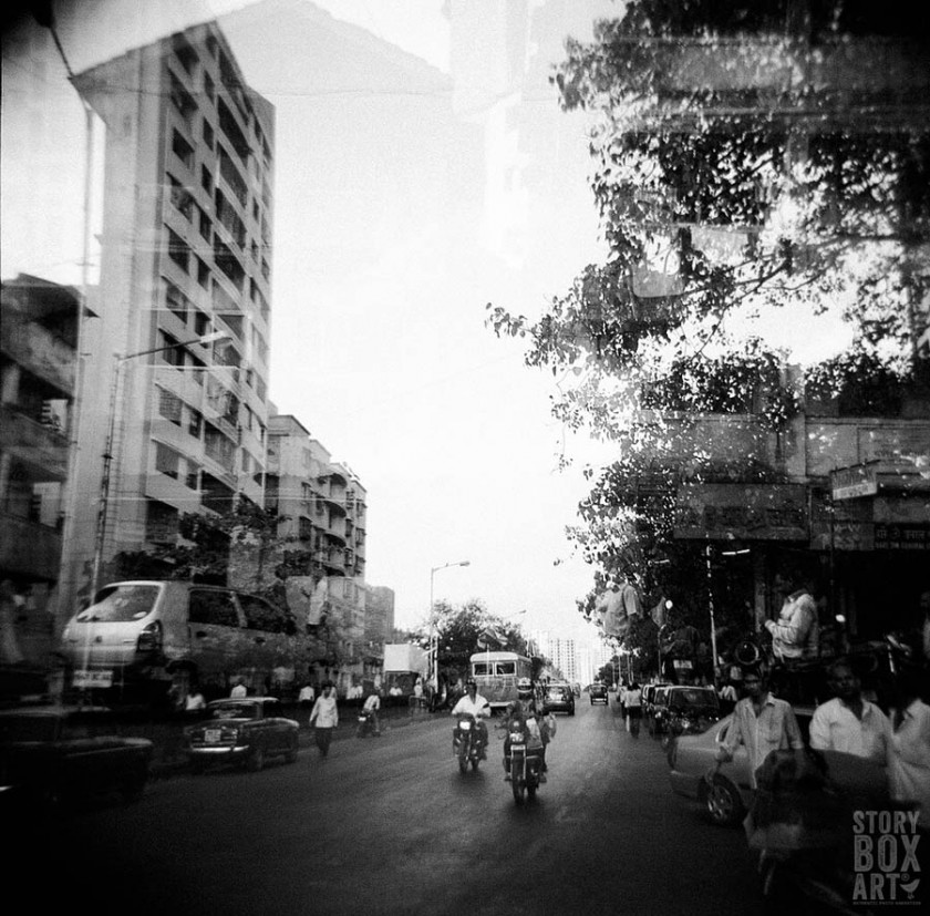 Mumbai holga picture by Storybox Art