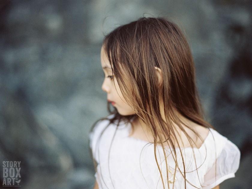child film portrait by Storybox Art