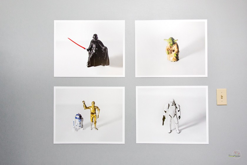 photo prints of star wars toys
