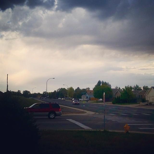 suburban street instagram photograph by hemigrrl