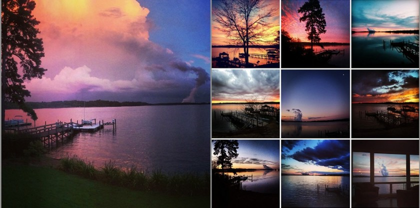sunset instagram pictures