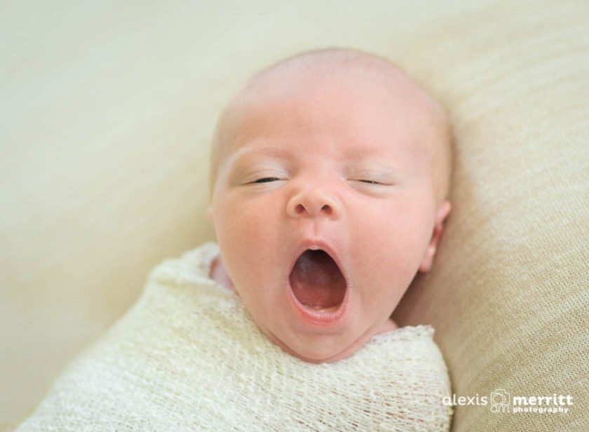 baby yawn photo by Alexis Merritt