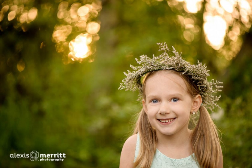 girl wearing a flower crown picture by Alexis Merritt