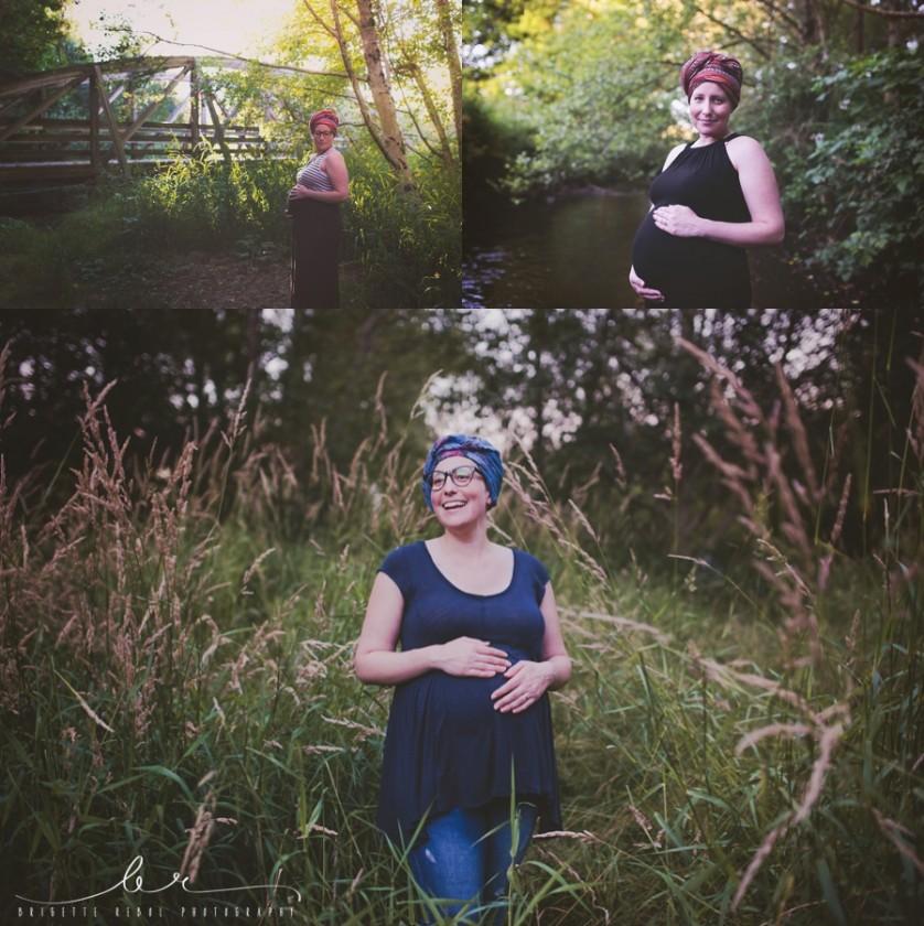 outdoor maternity photo by Brigette Rebol