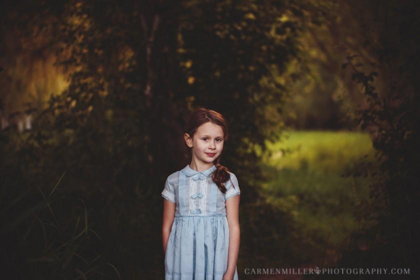 portrait of a girl by Carmen Miller