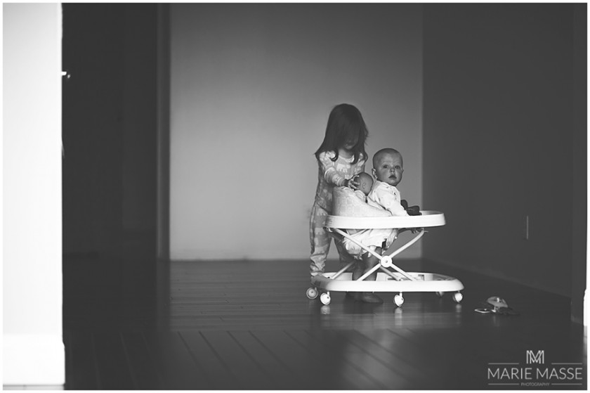 siblings playing photo by Marie Masse