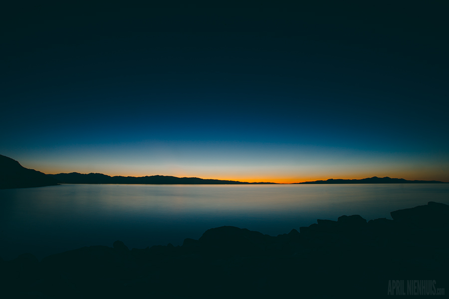 sunset over Salt Lake by Oklahoma photographer April Nienhuis