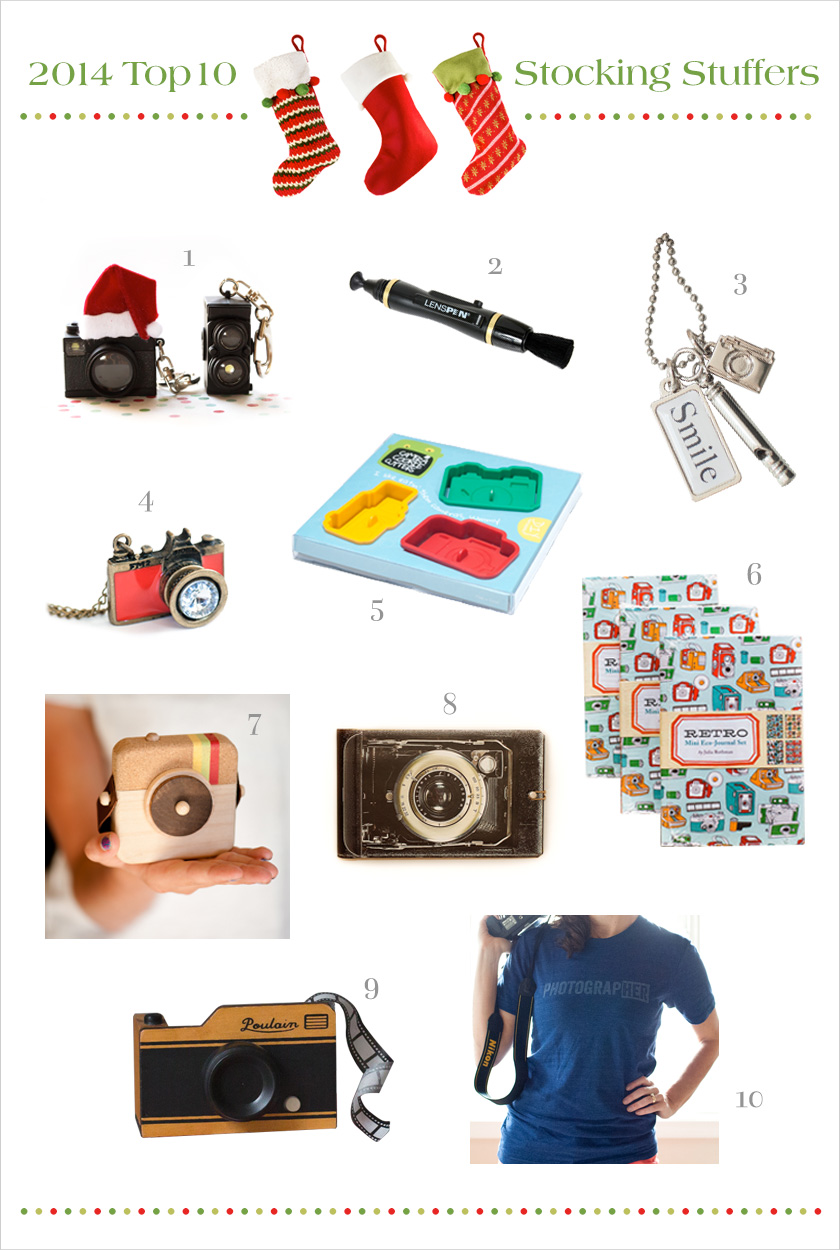 10 stocking stuffers for photography enthusiasts