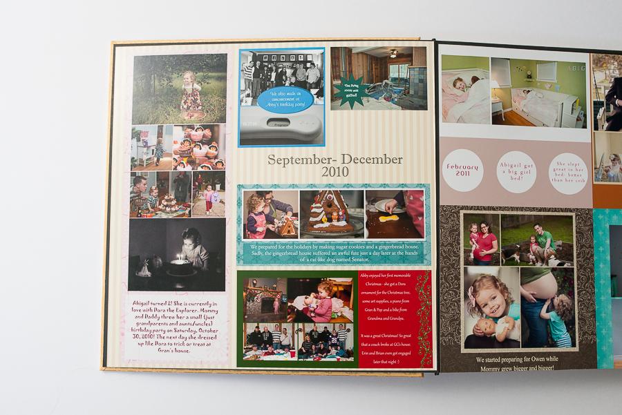 inside a photo album by Melissa Stottmann