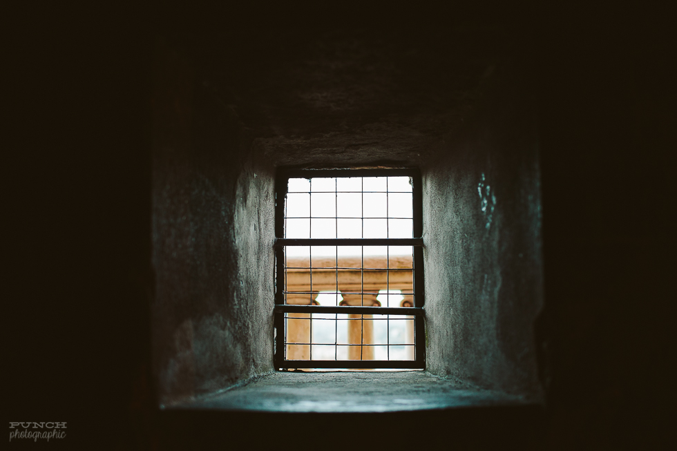 photo of empty window by Sarah Lalone
