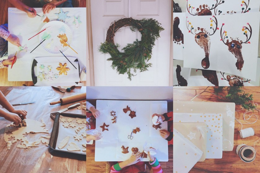 Christmas craft Instagram photos from Veronika G Photography