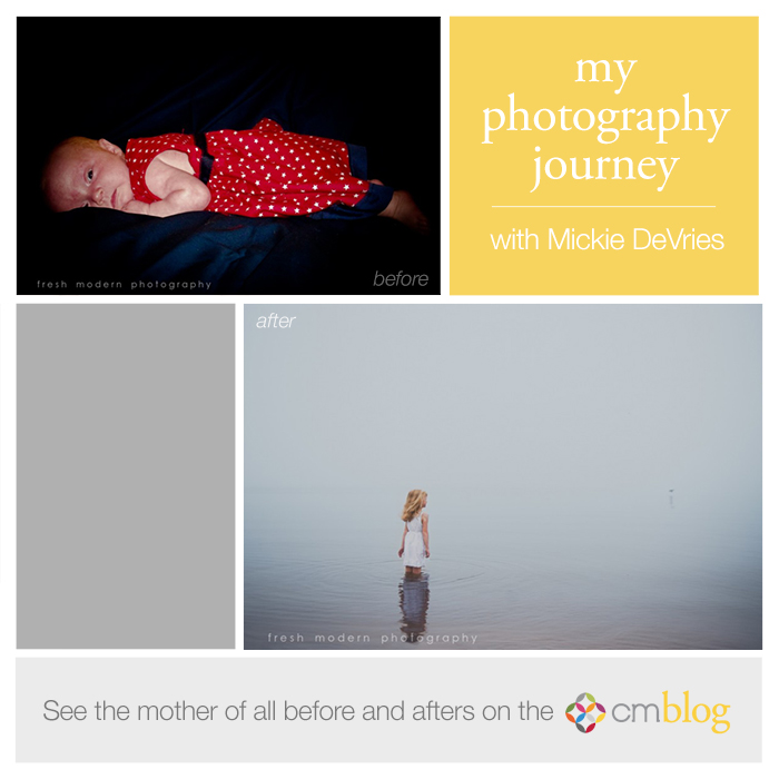 The photography journey of Mickie DeVries of Fresh Modern Photography