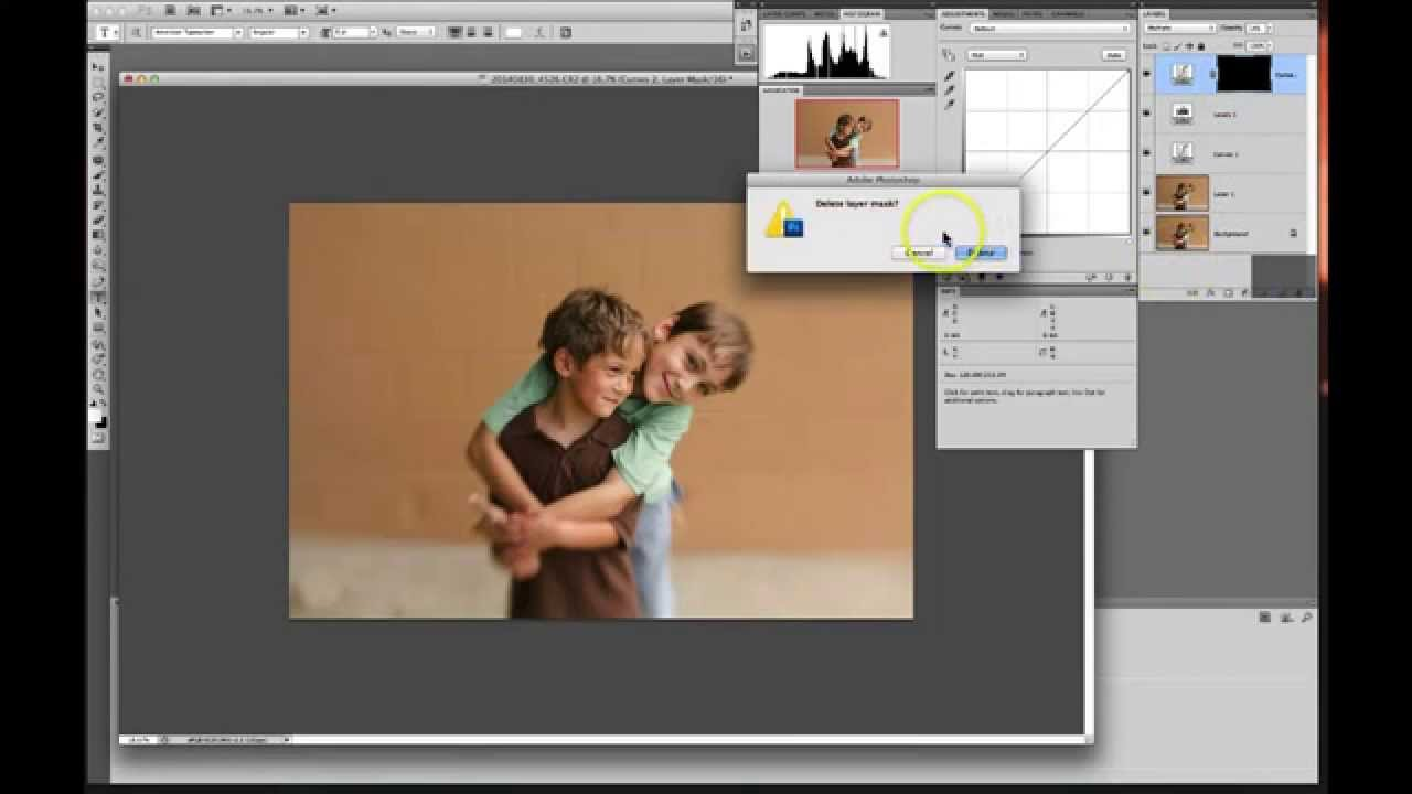 acr and photoshop video tutorial: a before & after clean edit