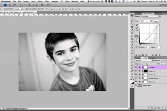 Before and After: converting to black and white