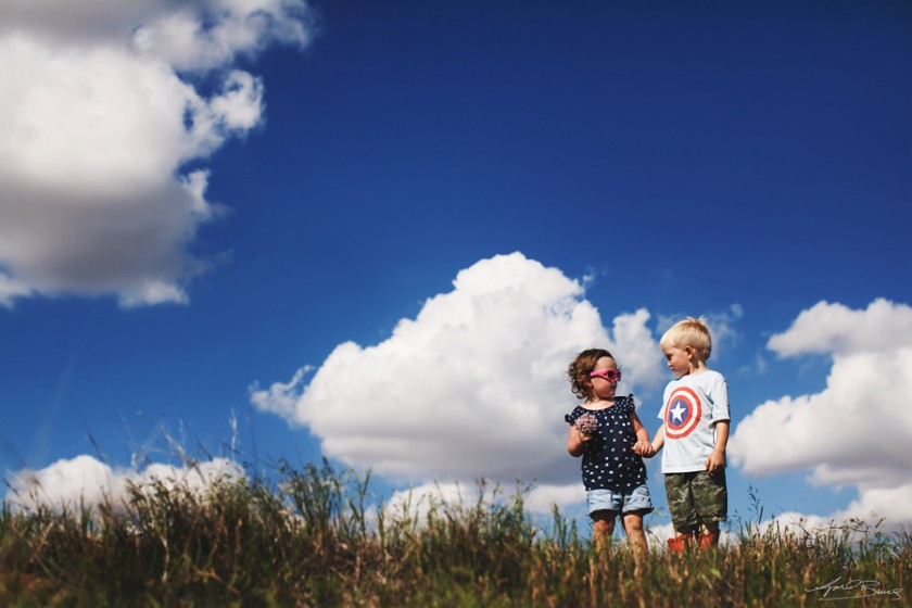 boy and girl holding hands photo by April Burns 5