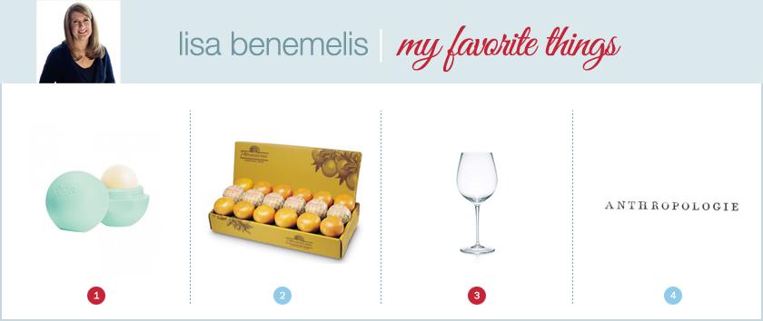 lisa benemelis favorite things
