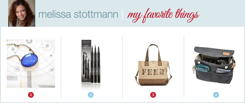 melissa stottmann favorite things