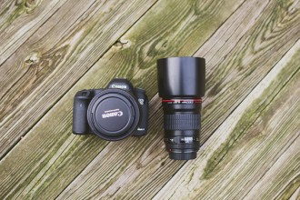 Canon 5d mark III and 135L lens