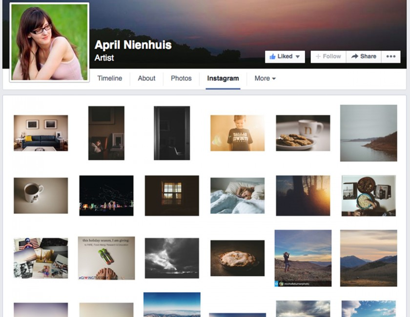 8 ways to successfully grow your instagram instagram feed on a facebook business page by april nienhuis ccuart Gallery