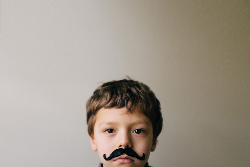 Mustachoed-Child-by-Megan-Dill