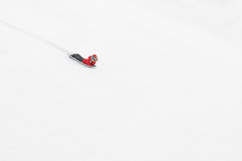 Sledder-Going-down-Hill-by-Erica-Allen
