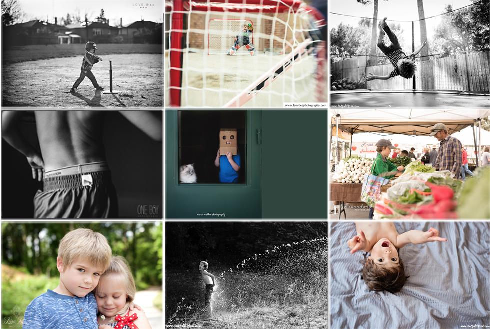 boyhood photography project