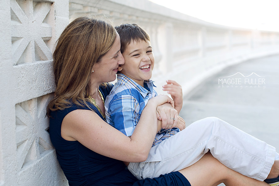 mom and son laughing picture by Maggie Fuller