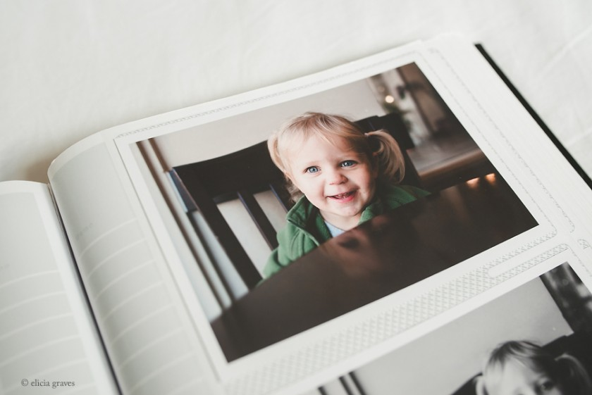 personal pictures in a photo album by Elicia Graves