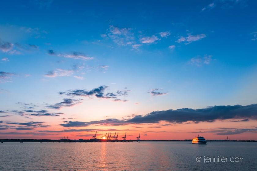 Elizabeth River Cruise Norfolk © Jennifer Carr Photography