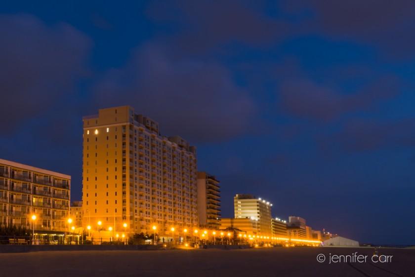 Virginia Beach Boardwalk © Jennifer Carr Photography