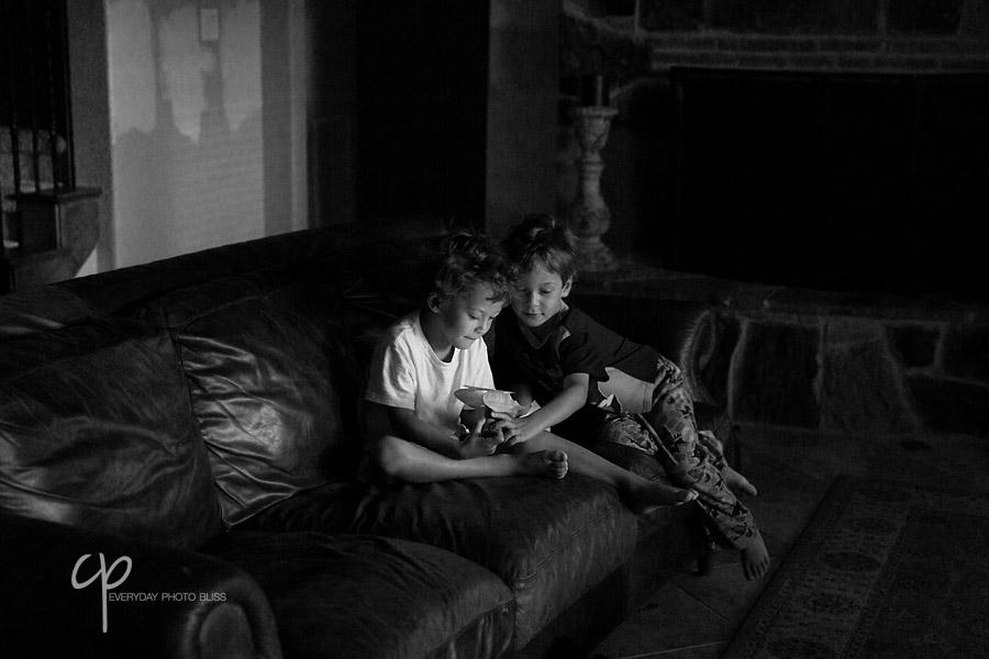 boys playing together by Celeste Pavlik