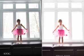 Before and After: a backlit edit in ACR and Photoshop