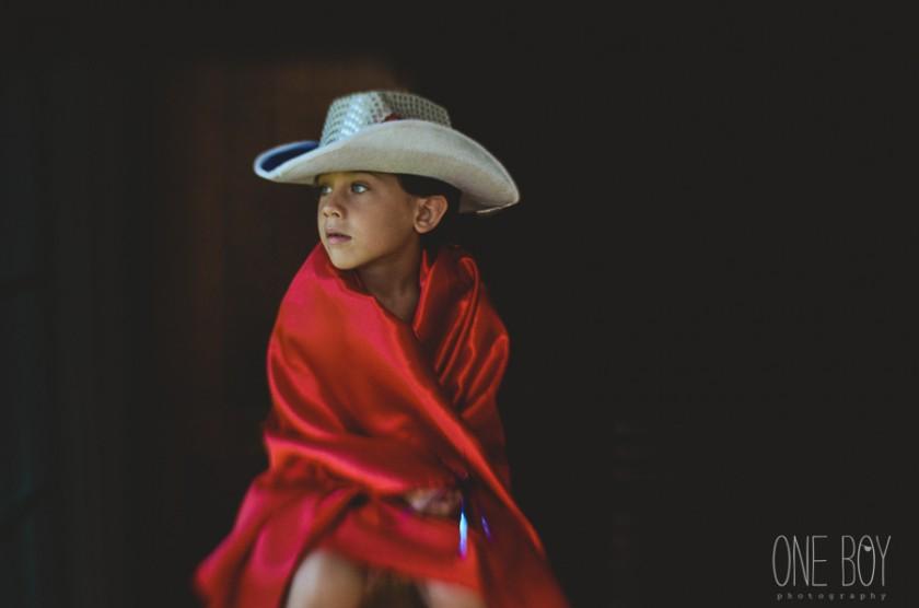 boy dressed as a cowboy by Jan Tyler