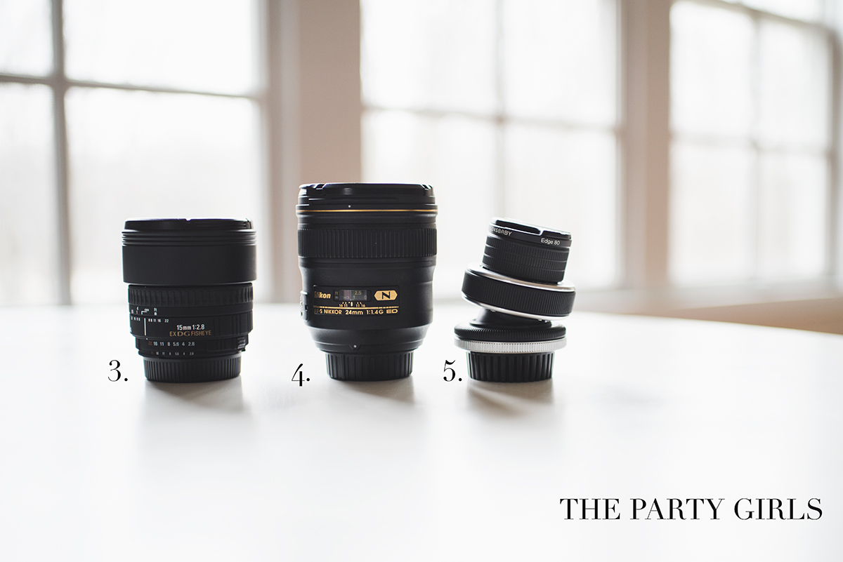 creative Nikon lenses