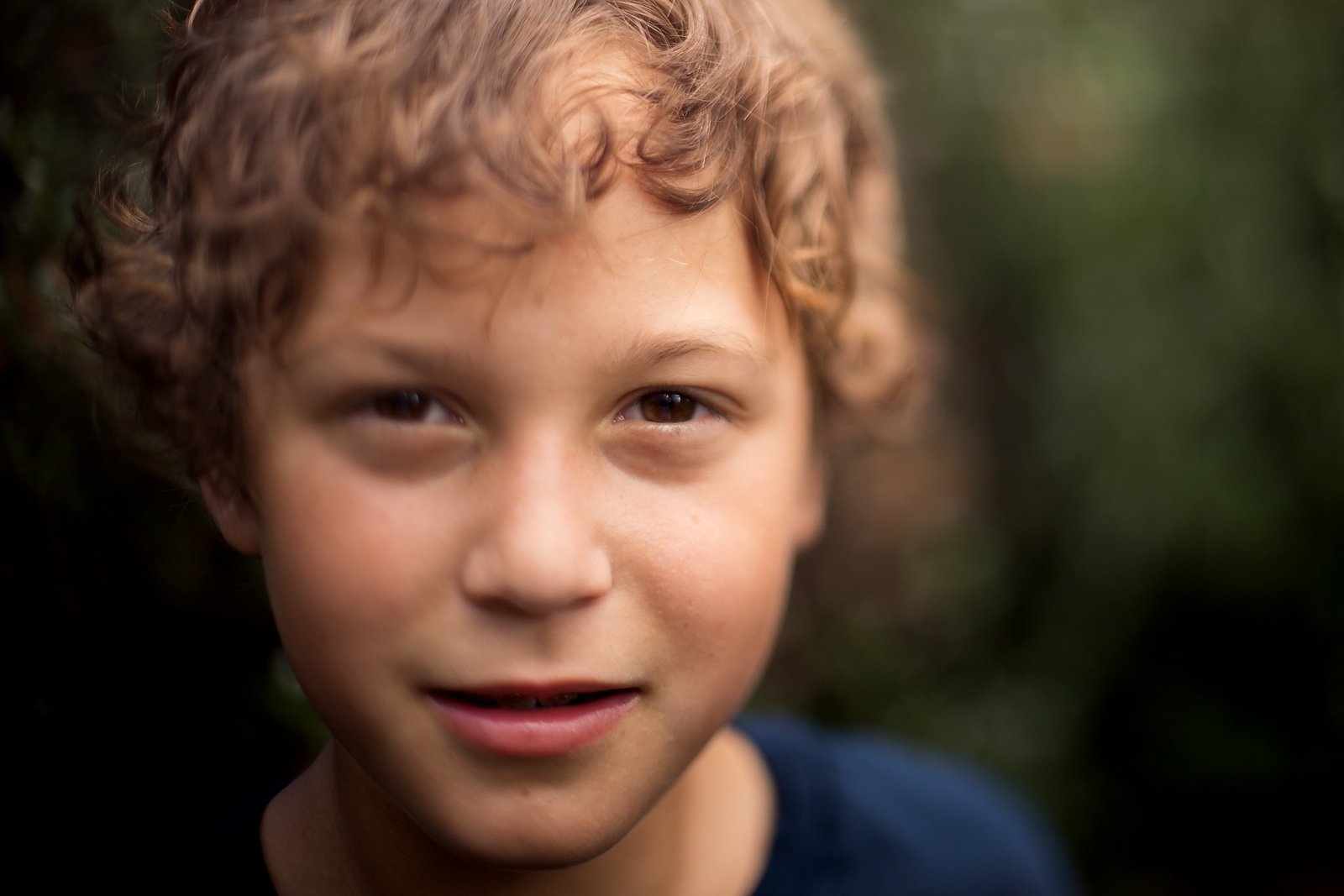 freelensed portrait of young boy by Celeste Pavlik